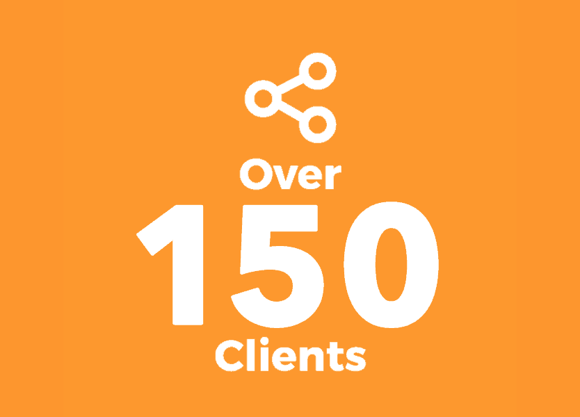 Over 150 Clients