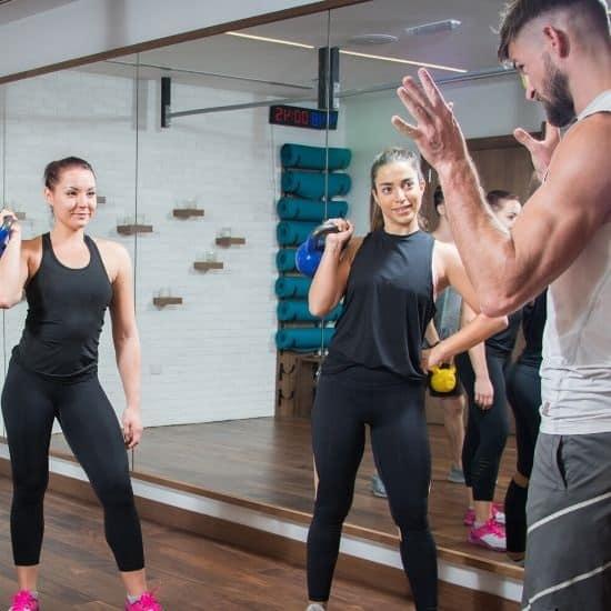 Fitness and wellness program management onsite