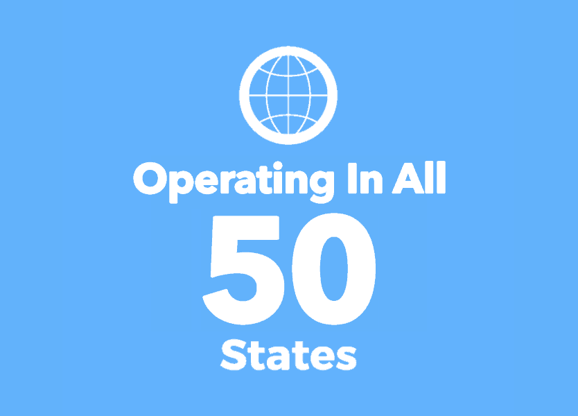 Operating in All 50 States