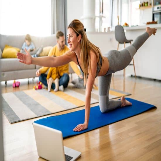 Strive Virtual Fitness and Yoga Classes engage remote employees